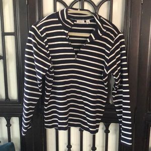 LLBean long sleeve navy blue  (women)